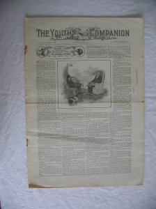 The Youths Companion Newspaper March 7,1901
