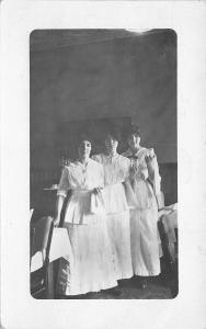 Minneapolis Minnesota~Clinton Hotel~The Waitress~Tillie Vina Mary~1914 RPPC