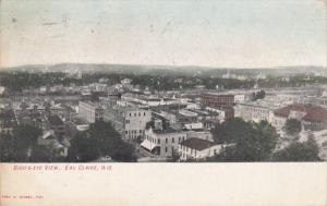 EAU CLAIRE, Wisconsin, PU-1910; Bird's-Eye View