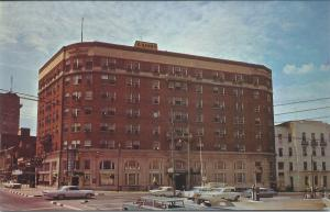 The O'Henry Hotel, Greensboro, North Carolina, postcard unused