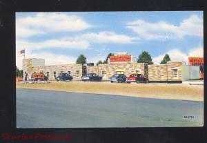 THE BLACK HILLS REPTILE GARDENS RAPID CITY SOUTH DAKOTA VINTAGE POSTCARD S.D.