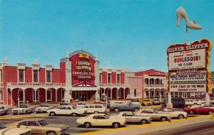 Las Vegas Nevada Silver Slipper Saloon Vintage Postcard AA30008