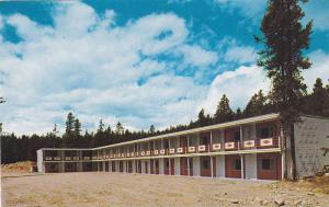 The Diamond Motel, Canadian Rockies, Jasper National Park, Alberta, Canada, 4...
