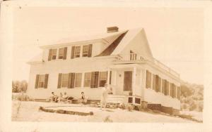 Brandon Vermont Residence Real Photo Vintage Postcard JC932698