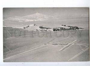 241222 ANTARCTICA Williams field McMurdo Station Old postcard