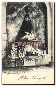 Old Postcard Nancy Stanislas King's Tomb has Bonsecours