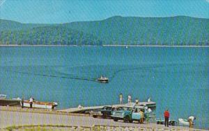 Boat Launch At Williow Bay Bradford Pennsylvania 1975