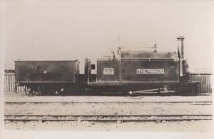 Prince Of Wales Train On Welsh Wales Railway Track Old RPC Real Photo Postcard
