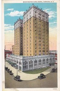 Washington Duke Hotel, Durham, North Carolina, 1936 PU