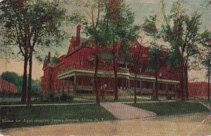 Home for Aged couples, Sunset Avenue,  Utica,  New York,   PU_1912