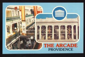 Providence,Rhode Island/RI Postcard,The Arcade/Historic Mall