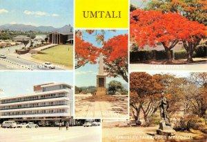 Vintage 1978 Multi View Postcard, Umtali, Rhodesia, Africa 76W