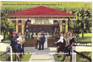 hathorn Spring House, Saratoga Springs NY