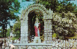 New York Graymoor Our Lady Of The Atonement Wayside Shrine 1956