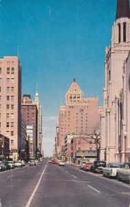 TULSA, Oklahoma; Boston Avenue looking North from 7th Street, PU-1997