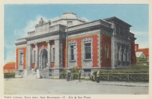 ST. JOHN , New Brunswick , Canada , 1930s ; Public Library