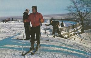 Mount Royal , MONTREAL, Quebec, Canada, 40-60s, Skiing