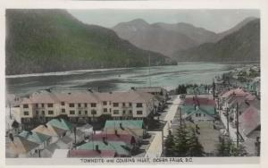 RP, OCEAN FALLS , B.C., Canada, 20s-40s; Townsite and Cousins Inlet