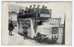 Chicago, Motor Bus On Michigan Boulevard