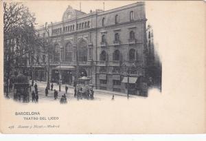 BARCELONA , Spain , Teatro Del Liceo , 00-10s