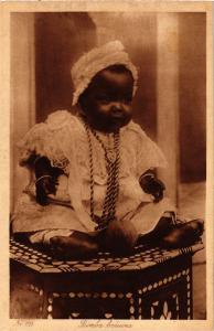 CPA TUNISIE-Bimba beduina (239916)