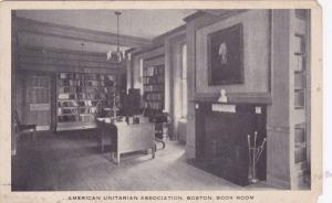 American Unitarian Association, Boston, Book Room, Massachusetts, 1900-1910s