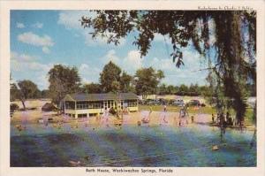 Bath House Weekiwachee Springs Florida