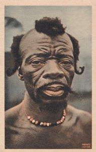 CAMEROUN, Africa, 1920-40s; Portrait d'un Homme de la foret