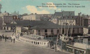 ANNAPOLIS , Maryland, 00-10s ; City Docks
