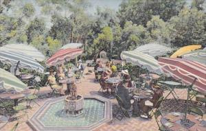 California San Diego Cafe Del Rey Moro Garden Of The Kings Balboa Park