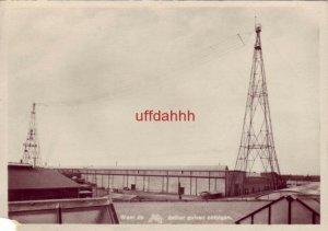 WAAR DE A.V.R.O. AETHER GOLVEN ONTSTAAN DUTCH RADIO TOWERS