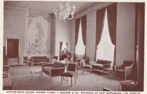 LOS ANGELES , California , 1910-30s ; Magnin & Co. ; Custom-Made Salon