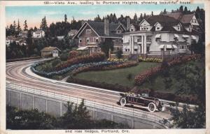 PORTLAND, Oregon, 1900-1910's; Vista Ave. Leading To Portland Heights