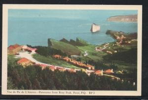Colour PC Panorama from Rosy peak, Perce, P.Q. unused