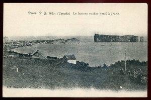 h1348 - PERCE Quebec Postcard 1900s Bay View by Garneau