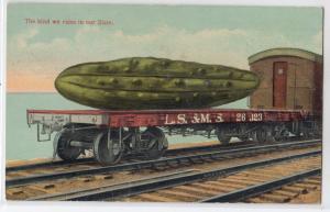 Railroad Load of BIG Cucumber