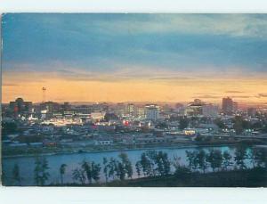 Pre-1980 TOWN VIEW SCENE Calgary Alberta AB p9596
