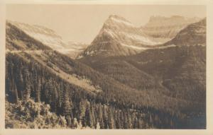RP; WHITEFISH , Montana , 1910-20s ; Summit , Logan Pass Road