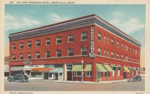 TWIN FALLS , Idaho, 1930-40s; The New Rogerson Hotel
