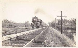 RP: ALBANY , New York , 1934; Railroad Train #5272 , New York Central Railroad