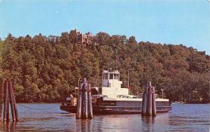 Hadlyme Connecticut~Gillette Castle~Chester Slip~Selden III Ferry Boat~1950s Car