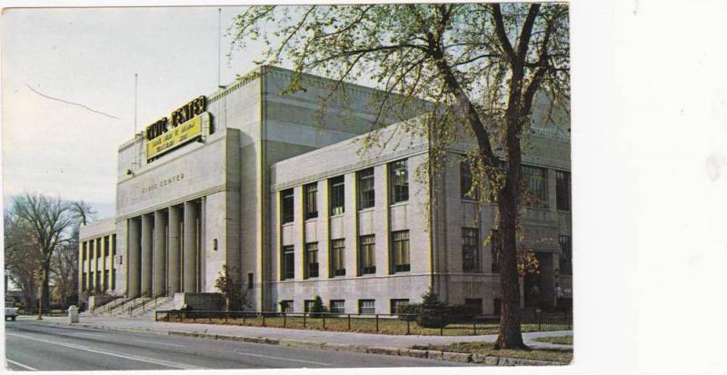 Street View, Civic Center, Great Falls, Montana 1940-60s