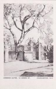 Charleston , South Carolina, 30-40s; Elizabeth O´Neill Verner; Lesesne gates...
