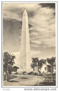Obelisco - Plaza de la Republica, Maracaibo - VENEZULA, 20-30s