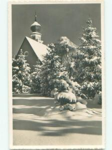 old rppc NICE VIEW Davos - Prattigau-Davos - Graubunden Switzerland i2945