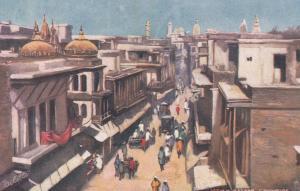 View in Bazaar , CAWNPORE , India ; 00-10s ; TUCK