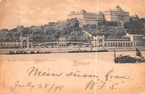 K Burg u Burgbazar Budapest Republic of Hungary 1898
