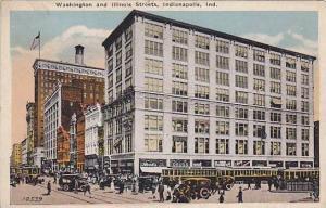 Trolley, Washington and Illinois Streets, Indianapolis, Indiana, 00-10s