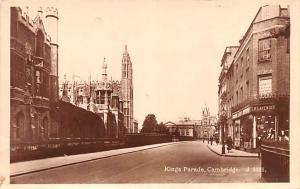 Cambridge United Kingdom, Great Britain, England Kings Parade Cambridge Kings...