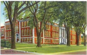 Bellows Free Academy, St. Albans, Vermont, VT, Linen
